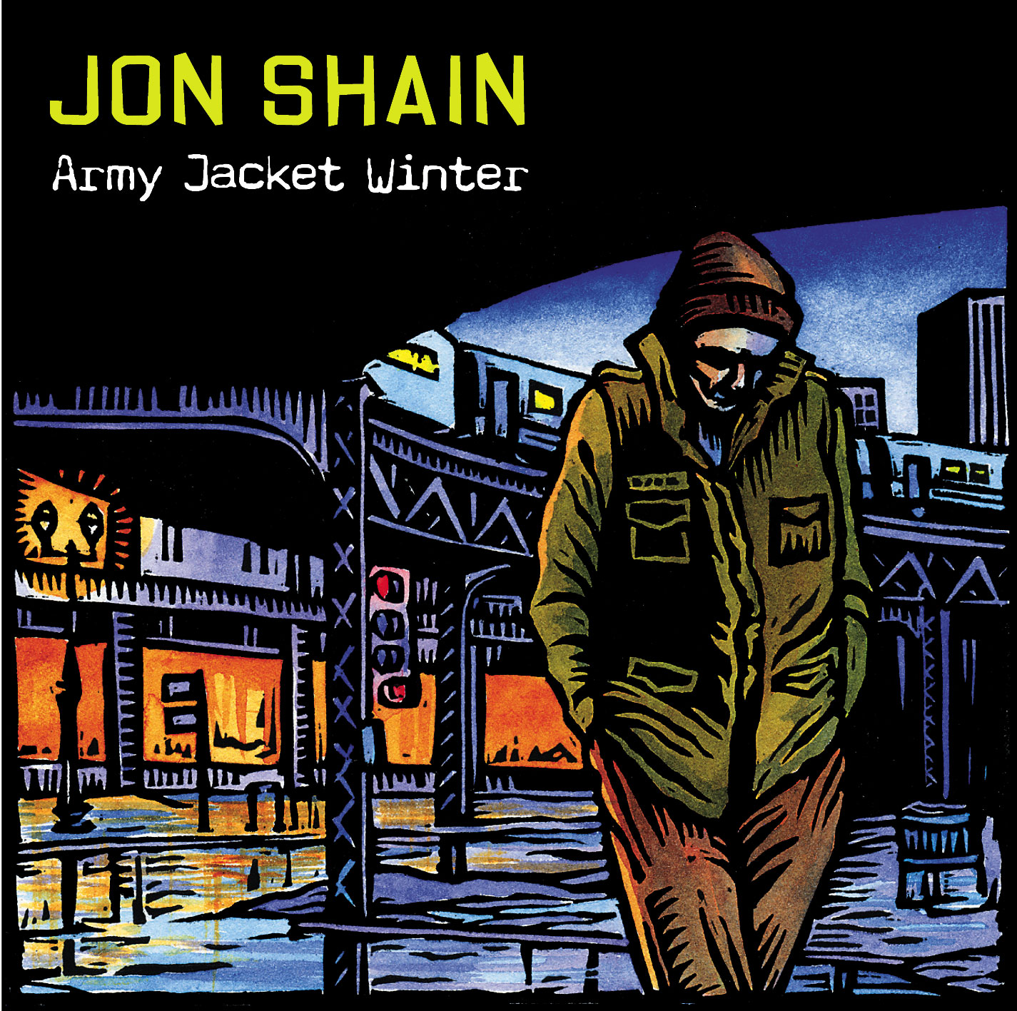 Army Jacket Winter Album Cover