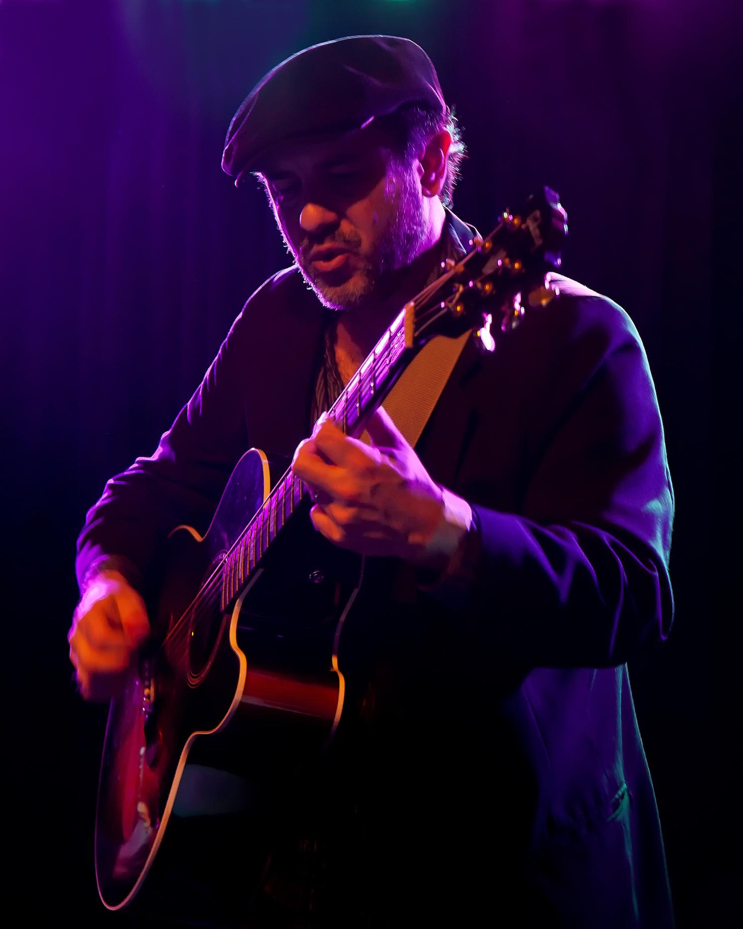 Jon performing live